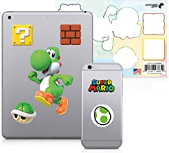 Controller Gear Officially Licensed Super Mario - Character Tech Decal Pack - Yoshi - Nintendo Wii; GameCube