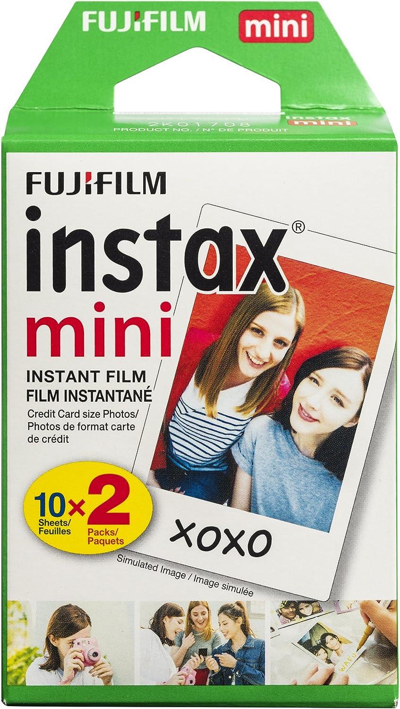 Fujifilm Instax Mini即时胶片双包装(白色)