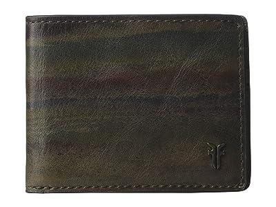 Frye Austin Slim ID Bifold (Dark Multi) Handbags