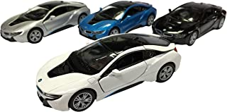 KiNSMART BMW i8 1:36 Scale Super Car, 4 Piece