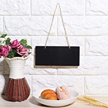 2PCS Durable Blackboard, Message Board, Note Board, Hanging Blackboard Reusable Erasable for Garden for Kitchen