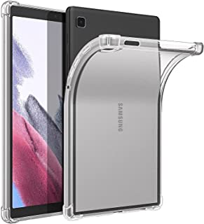 Silicone Transparent TPU Case Anti-shock Shockproof Corners For Samsung Galaxy Tab A7 Lite 8.7-Inch 2021 Release Tablet Mo...