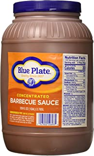 Blue Plate Concentrated Bbq Sauce 1 gallon