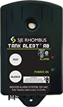 SJE Rhombus 1012668 Tank Alert AB-TA AB-01HAUX, 120 VAC with 15' SJE Signal Master High Level and Auxiliary Contracts