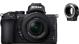 Nikon Z 50 KIT DX 16-50 mm 1:3.5-6.3 VR + FTZ adapter obiektywu kamery