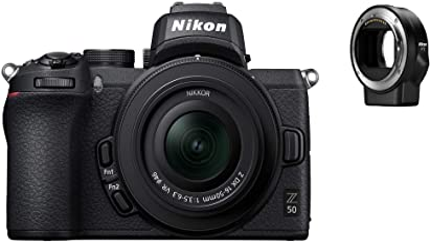 Nikon VOA050K004 Z 50 Camera +16-50mm VR + Ftz Adapter Kit
