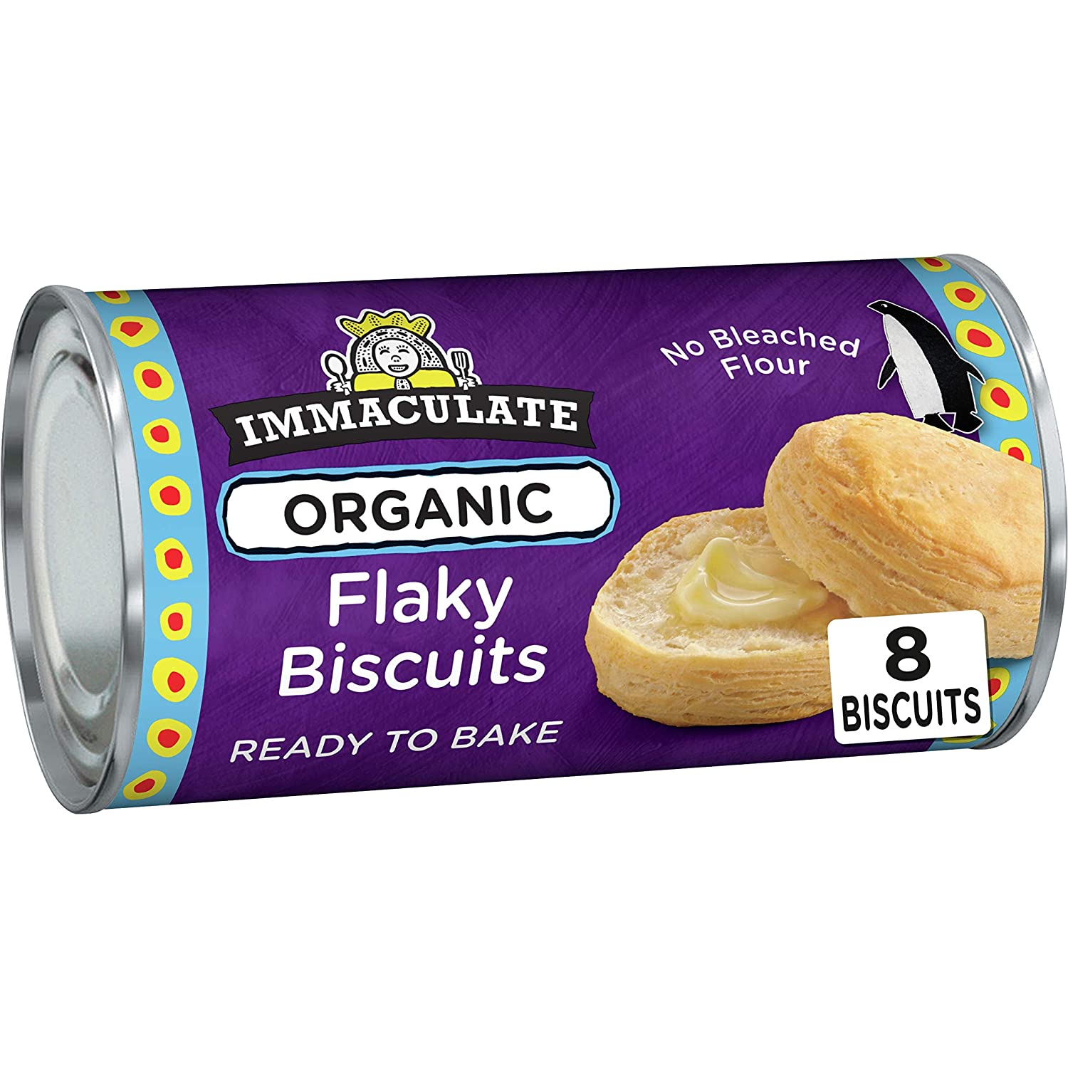 Immaculate New sales Baking Organic 8 biscuits OFFicial shop Biscuits