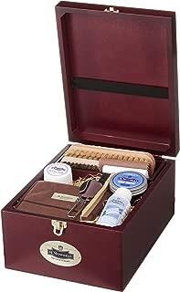 [エム・モゥブレィ] シューケア 靴磨きキット 木箱入り トラディショナルケアセット ギフト プレゼント スムースレザー