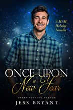 Once Upon A New Year: A M/M Age Gap, Forced Proximity Holiday Romance (English Edition)
