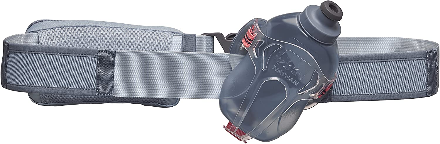 Nathan NS4524 Switchblade Running Hydration Pack Fitness Running Belt Two 12oz Flasks, One Size