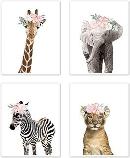Best animal flower crown print Reviews