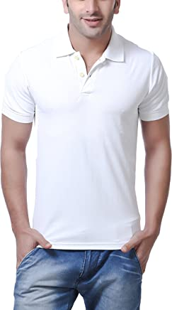 AMERICAN CREW Men's Polyester Honeycomb MagCool Polo T-Shirt