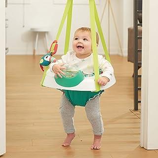 Evenflo ExerSaucer Tiny Tropics 2-IN-1 Baby Seat + Door Jumper 4m+
