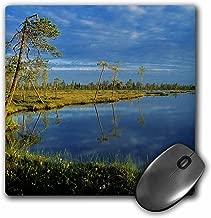 3dRose LLC 8 x 8 x 0.25 Sunset Wetland Moorland Norway Rolf Nussbaumer Mouse Pad (mp_82455_1)