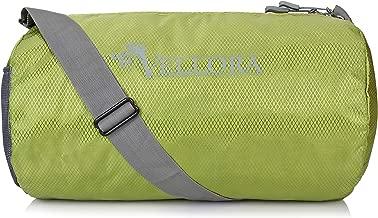 VELLORA Sport Polyester Duffle Gym Bag Long Lasting Material for Men and Women (Green Colour, 15 Liter) Jasper