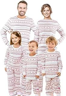 Family Matching Christmas Pajamas Set Pyjamas Xmas Sleepwear Holiday Pjs Polar Bear