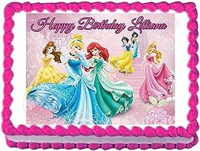 24 X 5TH BIRTHDAY PINK PRINCESS CUPCAKE TOPPERS EDIBLE CAKE RICE PAPER CC0271