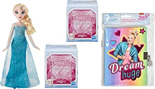 Princess Royal Shimmer and Classic Fashion Doll Gift Set Including JoJo Mini Diary and Gem Collection Mystery Box (Elsa)