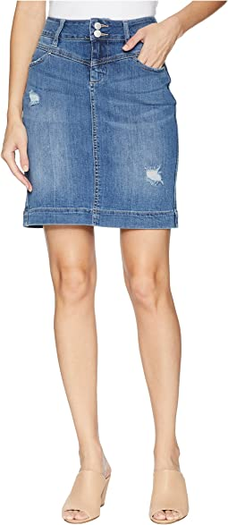 Sherwood Denim Skirt in Mineral Wash