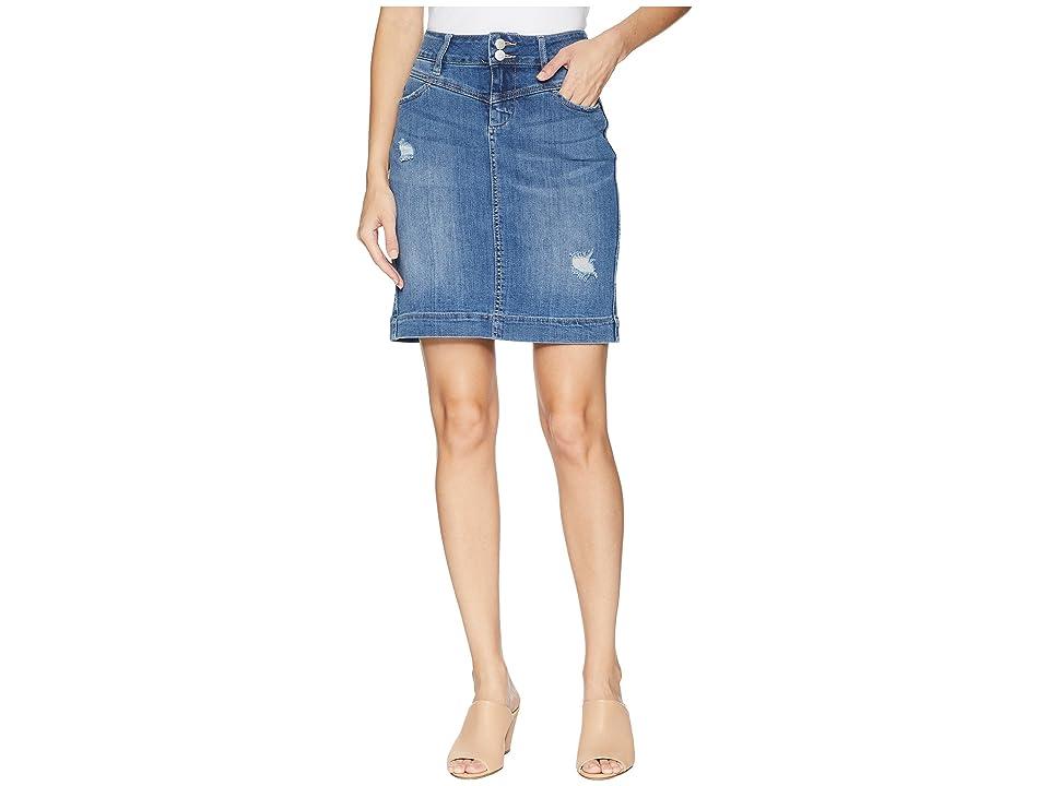 Jag Jeans Sherwood Denim Skirt in Mineral Wash (Mineral Wash) Women