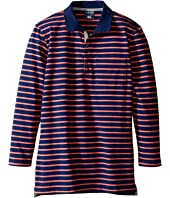 Toobydoo - Cameron Long Sleeve Polo (Toddler/Little Kids/Big Kids)