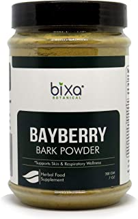 Bayberry Powder (Myrica esculenta), Supports Respiratiory Tract & Circulatory Health by Bixa Botanical - 7 Oz (200g)