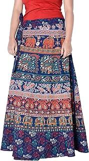 Sttoffa 36 Inch Length Wrap Around Rajasthani Skirt D2