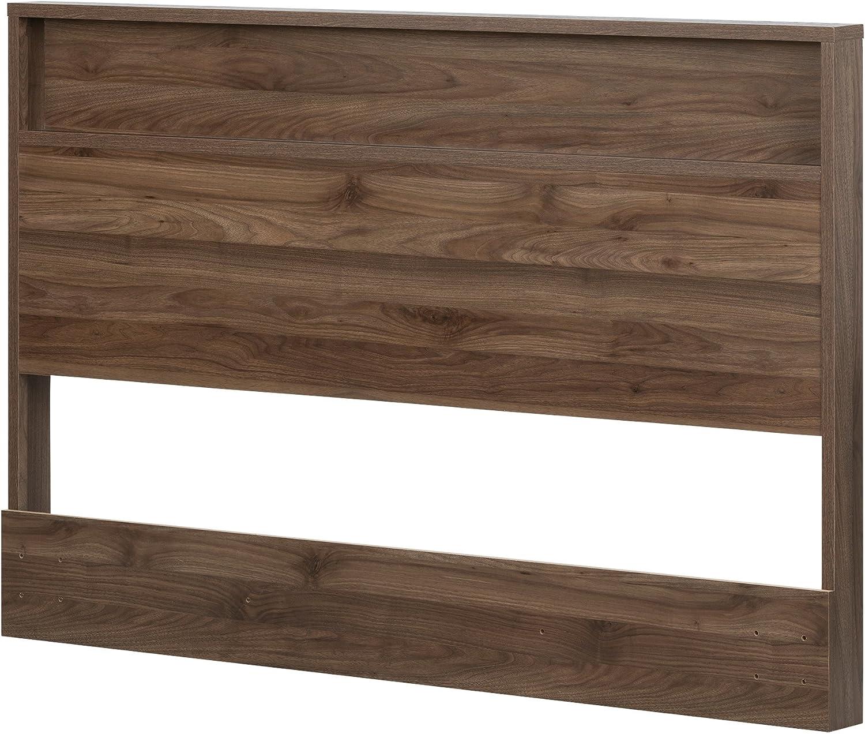 South Shore Furniture 11940 Headboard, Full Queen, Natural Walnut