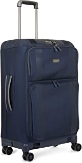 Antler 3906114023 Titus 4W Medium Roller Case Suitcases (Softside), Blue, 68 cm