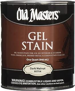 Old Masters 80704 80704 Gel Stain, 1 Quart, Dark Walnut