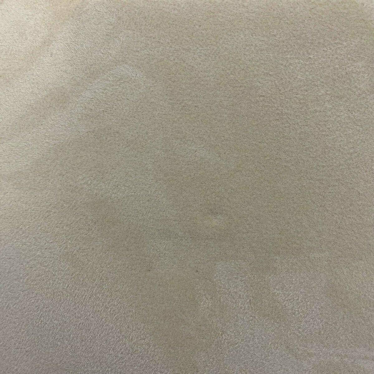 Fashion Fabrics Sand Beige Luxury Suede Auto Stretch Backed Foam Mesa Mall Special price