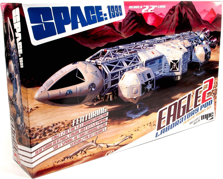 MPC Space:1999 Eagle II w-Lab supreme Model 1:48 Pod Scale Kit Max 80% OFF