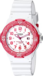 Casio Sports 3-Hand Analog White Dial Women's Watch #LRW200H-4BV