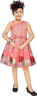 4 YOU Girl's A-Line Knee Length Dress