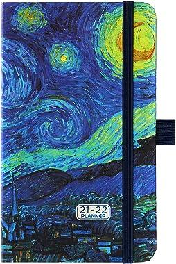 2021-2022 Pocket Planner/Calendar - Weekly & Monthly Pocket Planner, July 2021 - June 2022, 6.3''×3.8'',