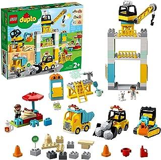 Duplo Construction Tower Crane & Construction 10933 Building Kit