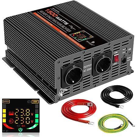 Novopal 2000w Kfz Reiner Sinuswellen Wechselrichter 24v Elektronik