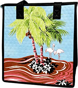 Hawaiian Tropical Lunch Bags   Insulated Lunch Box Tote Organizer   Great For Office, Work, Beach, Office, Picnic (I'm Yours Sky)