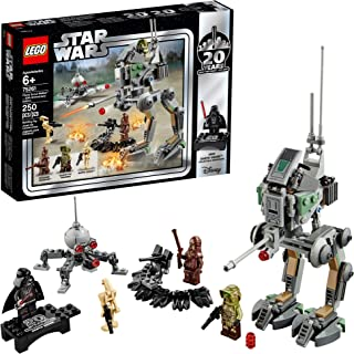 LEGO Star Wars Clone Scout Walker – 20th Anniversary Edition 75261 Building Kit (250 Piece) (Renewed)