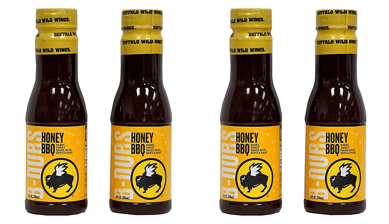 Buffalo Wild depot Wings Honey BBQ Sauce 12 Ounce 2 Recommended P Fluid Pack of
