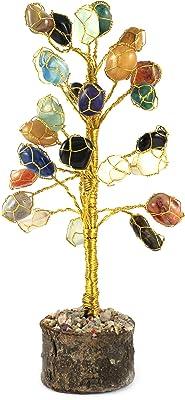 eshoppee vastu/feng Shui Tumbled Gem Stone Tree