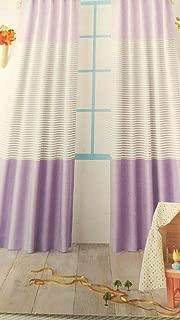 colorblock striped curtain panel pillowfort