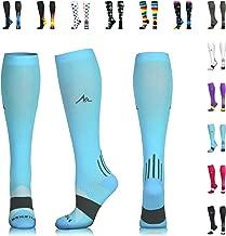 NEWZILL Compression Socks for Men & Women 20-30 mmHg - Athletic Fit