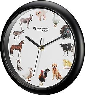 Bresser Wall Clock, Black, 25 cm