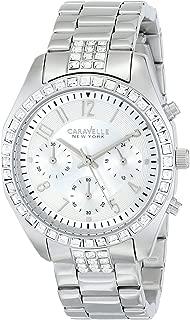 Caravelle New York by Bulova Women's 43L171 Analog Display Japanese Quartz White Watch