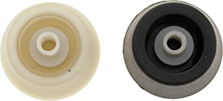 Dorman HELP! 76938 GM Window Handle Knob Kit - (Contains 1 Black and 1 Clear Knob and Hardware)