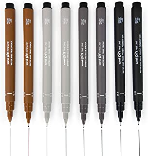 Best uni pin fineliner drawing pen Reviews