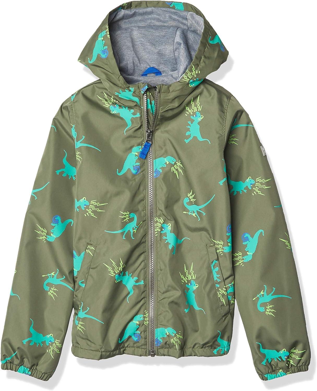 Osh Kosh Boys' Little Jersey-Lined Lightweight Jacket: Clothing