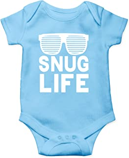Snug Life - Hip Hop Funny Parody - Coolest Baby Ever - Cute One-Piece Infant Baby Bodysuit
