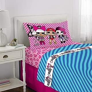 Franco Kids Bedding Super Soft Microfiber Sheet Set, 3 Piece Twin Size, L.O.L. Surprise